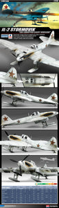 Academy 1/48 WW2 IL-2 Stormovik Ski Equipped (Early Version) Kit - Baron von Plastic