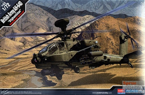 Academy 1/72 AH-64D British Army Afghanistan Helicoptor Kit - Baron von Plastic
