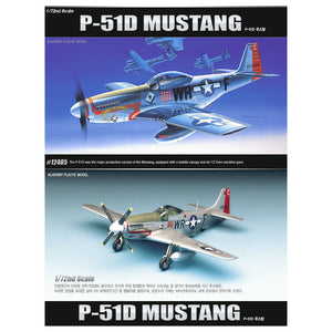 "Academy 1/72 NA P-51D Mustang ""Down for Double"" Kit - Baron von Plastic"
