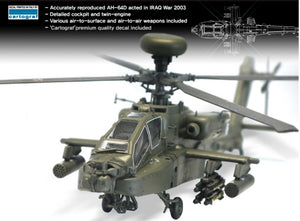 Academy 1/72 AH-64D Block II 'Early Version' US Army Helicoptor Kit - Baron von Plastic