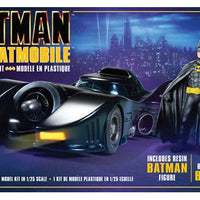 AMT 1/25 1989 Batman Movie Batmobile w/ Resin Batman Figure - Baron von Plastic