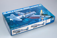 "Trumpeter 1/32 Kit #2244 SBD-3 ""Dauntless"" Midway ( Clear Edition)"