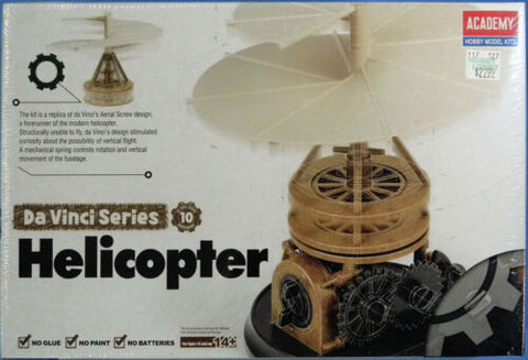 Academy DaVinci Helicoptor Educational Snap Kit