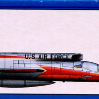 "Trumpeter 1/72 Kit #1605 North American F-107A ""Ultra Sabre"""