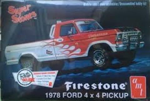 AMT 1/25 Super Stones Firestone 1978 Ford 4x4 Pickup Kit
