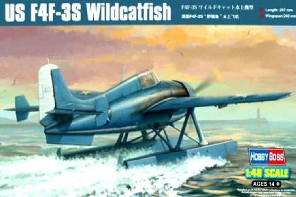 HobbyBoss 1/48 Kit #81729 US F4F-3S Wildcatfish - Baron von Plastic