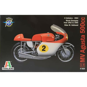 Italeri 1/9 Kit #4630 MV AGUSTA 500 cc. 4 CYLINDERS - 1964 WORLD CHAMPION