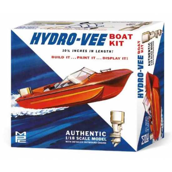 MPC 1/18 Hydro-Vee Boat Kit