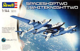 Revell Germany 1/144 Spaceship Two & Whitenight Two Kit #04842