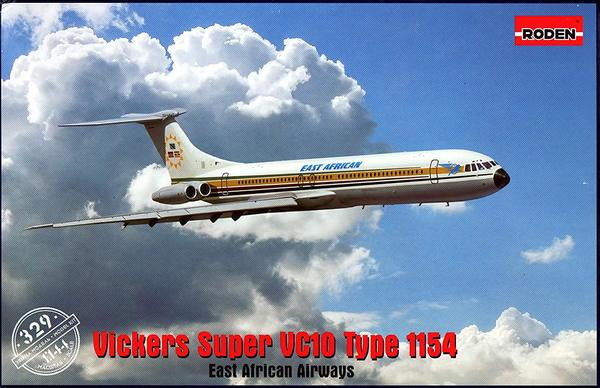 Roden 1/144 Kit #329 Vickers Super VC-10 Type 1154 East African Airlines - Baron von Plastic