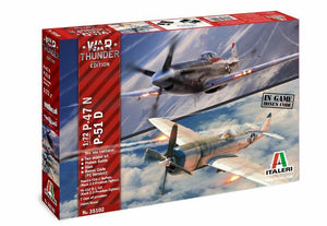 "Italeri  1/72 Twin Kit- ""War Thunder"" WW2 P-47N & P-51D Plus Bonus! Ltd. Edition - Baron von Plastic"
