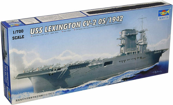 Trumpeter 1/700 Kit #05716 USS Lexington CV-2 05/1942 - Baron von Plastic