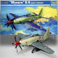 Trumpeter 1/48 Kit # 02843 Westland Wyvern S.4 (Early) w/ Photo-etched Parts Set