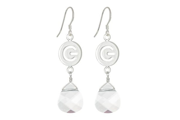 Glow logo earrings