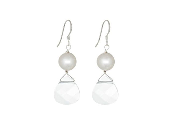Glow earrings Pearl