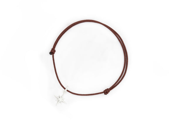 Northstar leather bracelet