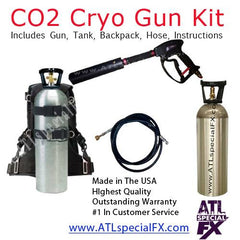 Handheld CO2 Cryo Special Effects Gun