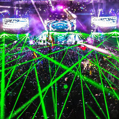 Rent Stage Laser Light Shows and LED Walls