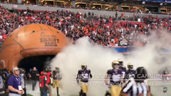 Football Team Tunnel Smoke Fog For Stadium