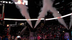 CO2 Fog Smoke For NBA and WNBA Team Intros
