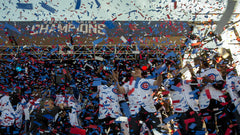 CO2 confetti for Chicago Cubs Baseball