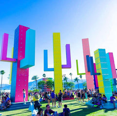 Coachella CO2 Jets and Confetti Cannons