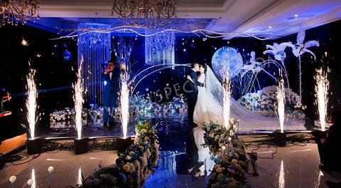 Rent Cold Sparklers For Wedding