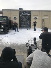Create Fake Snow For Jack Daniels