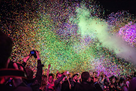 Huge Stadium Party Confetti Cannon Machine, Giant Cannon Confetti, confetti launcher, confetti, party supplies, party decorations, party confetti, RENT Confetti Machine