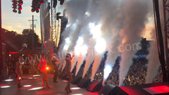 CO2 Jet Cannons and Confetti For Pitbull Concert Hard Rock Casino