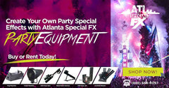 Rent CO2 Party Equipment Rental Cryo Club Cannons ATL SPECIAL FX