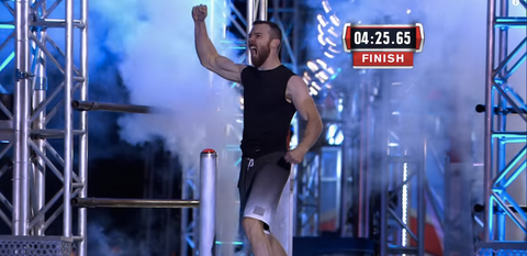 CO2 Jet American Ninja Warrior Finish Line Atlanta Special FX