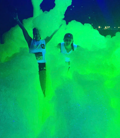 UV Neon Glow Foam Party Fluid Black light Additive