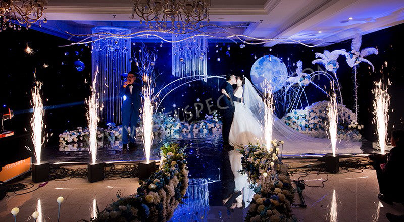 cold sparkler for wedding by showven sparkular and atlanta special fx