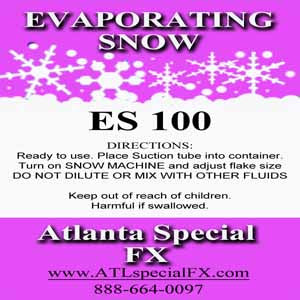 ES100 Snow Fluid Atlanta Special FX