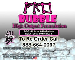Professional Bubble Solution Fluid