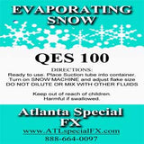 qes 100 snow fluid