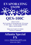 Snow Machine Fluid QES-100 Rapid Evaporating Snow Fluid Recipe