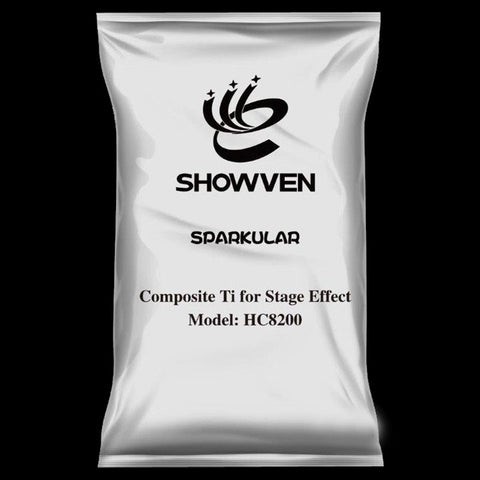 Showven Sparkular Granules Cold Sparkler Machine Powder Ti Composite 50 g
