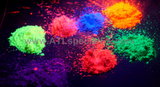 Ultra bright uv neon powder paint