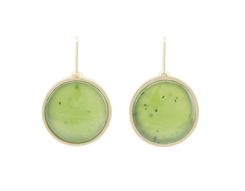Large, Round Big Picture Earrings