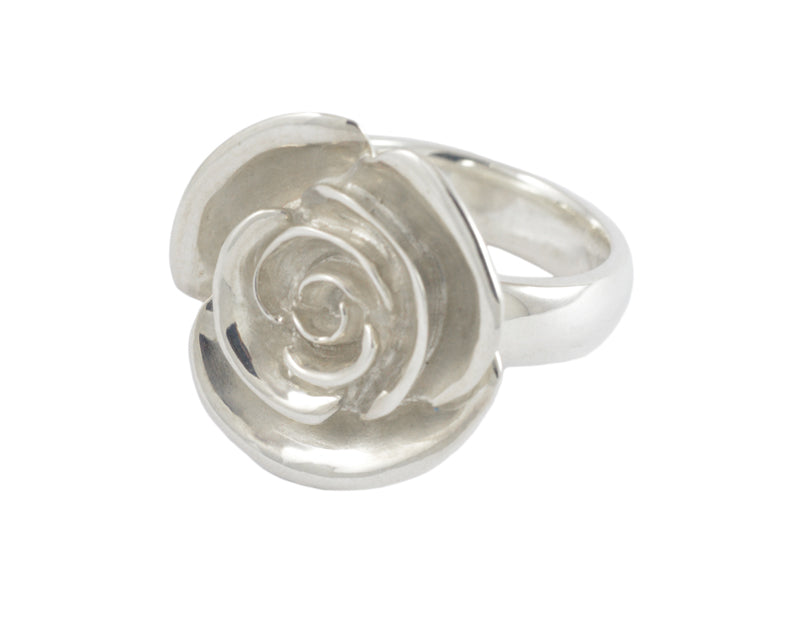 Big Rose Ring (frosted)