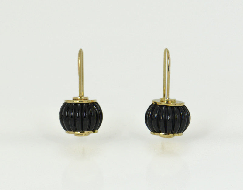 Harlequin Earrings (Onyx)