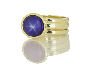 A Daughter's Star Ring Trio