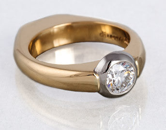 Doppio Diamond Ring