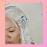 Everyday I'm Sparkling - Hair Clips