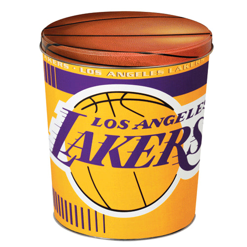 Popcorn Tin (3.5 Gal) - LA Lakers
