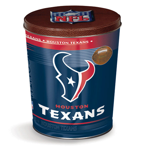Popcorn Tin (3.5 Gal) - Houston Texans