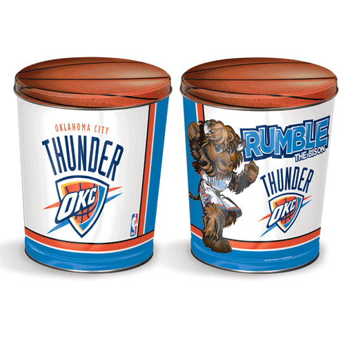 Popcorn Tin (3.5 Gal) - Oklahoma City Thunder