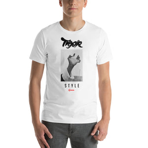 Tiger Hand Style T-Shirt - White